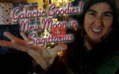 Galactic Goodies!  New Moon in {Sidereal} Sagittarius!