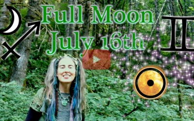 July 16th Full Moon ~ Loving the Questions Themselves!