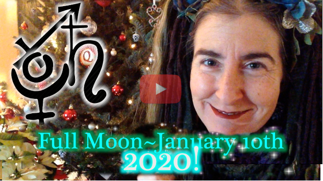 January 10th Full Moon ~ Pluto Saturn Conjunction!