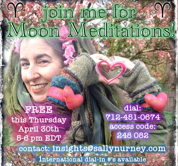 Moon Meditation 4.30.2020 {Sidereal }Aries