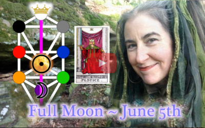 Justice & Equanimity ~ June 5th Full Moon