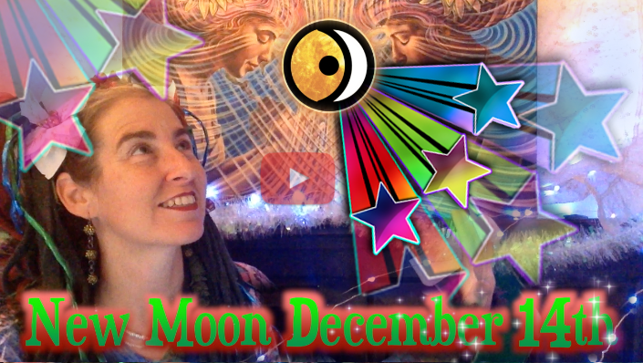 The Sparkle of Solstice ~ New Moon Dec 14th Eclipse!