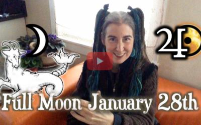 Stamina & Your Tender Heart ~ Jan 28th Full Moon