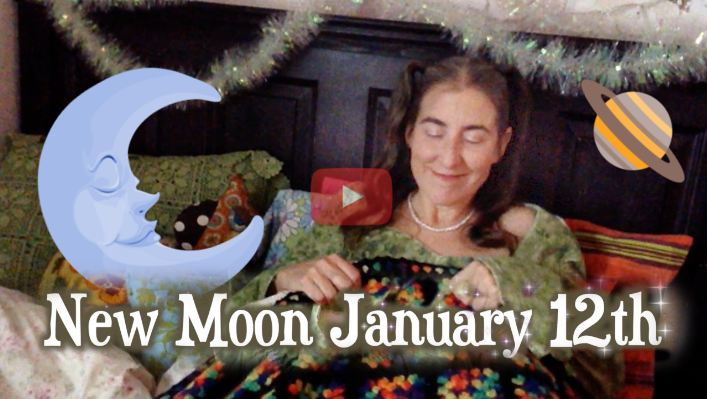 SelfCare & Centering ~ New Moon Jan 12th