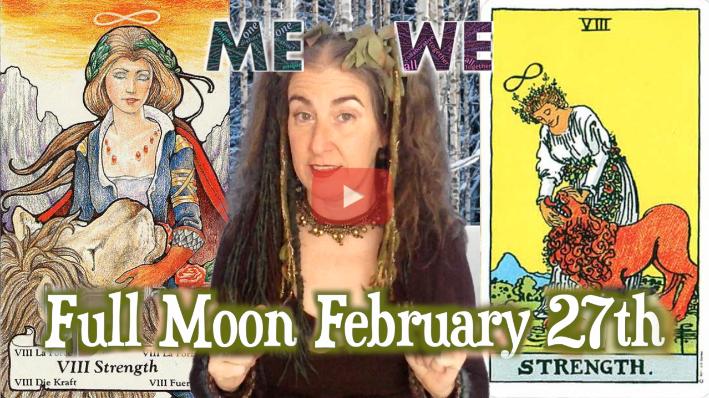 Me & We! ~ {Sidereal} Aquarius & Leo Full Moon Feb 27th