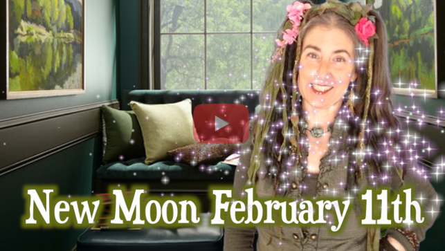 Fizzy Forest & the Future ~ {Sidereal} Capricorn New Moon Feb 11th