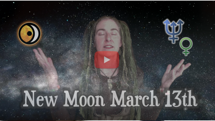 the Ocean of Stars ~ New Moon of March 13th