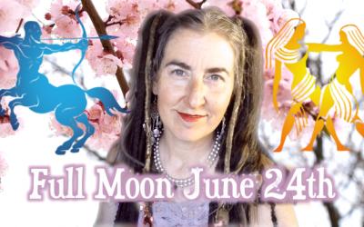 Sun Light Magic Moment ~ Full Moon in {Sidereal} Sagittarius