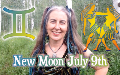 Open Space ~ July 9th New Moon in {Sidereal} Gemini