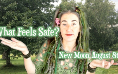 What Feels Safe? ~ August 8th New Moon {Sidereal Cancer}