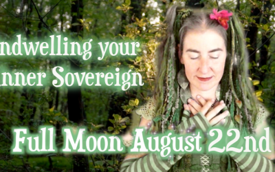 Indwelling your Inner Sovereign ~ Aug 22nd Full Moon {Sidereal Leo & Aquarius}